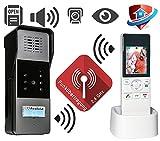 Goliath Funk Farb Video Türsprechanlage Gegensprechanlage Sprechanlage Videosprechanlage Bildspeicher Mobilteil und Außenstation mit Kamera