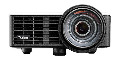 Optoma ML1050ST LED Kurzdistanz Projektor (WXGA, 1000 LED Lumen, 20.000 Kontrast, 3D)