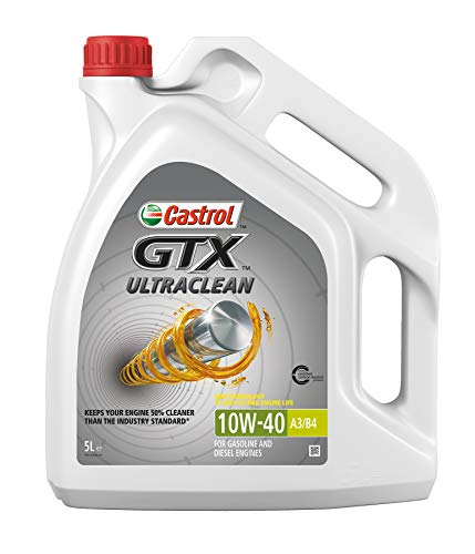 Castrol GTX ULTRACLEAN 10W-40 A3/B4 Motorenöl 5L