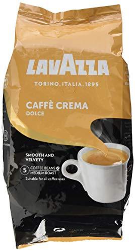 Lavazza Kaffeebohnen Caffè Crema Dolce, 1er Pack (1 x 1 kg)