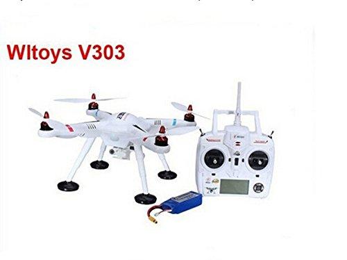 XT-XINTE WLtoys V303 SEEKER GPS-Drohne RC Hubschrauber Quadcopter mit Gimbal Bracket für GoPro Sport-Kamera