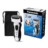 Panasonic Rasierapparat ES-RL21 mit schnellem 3-fach Scherkopf, elektrischer Rasierer fr Herren, fr die Nass- und Trockenrasur, bequem & zeitsparend